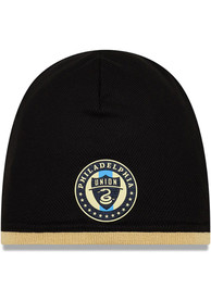 New Era Philadelphia Union Black 2019 Official Beanie Knit Hat
