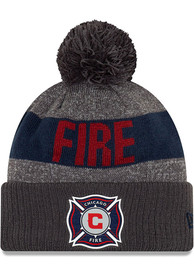 New Era Chicago Fire Grey 2019 Official Sport Knit Hat