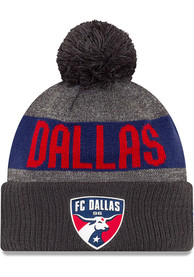 New Era FC Dallas Grey 2019 Official Sport Knit Hat