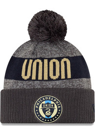New Era Philadelphia Union Grey 2019 Official Sport Knit Hat