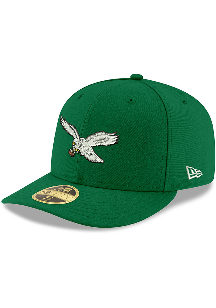 cd4bff26d65 Philadelphia Eagles New Era Kelly Green Retro LP59FIFTY Fitted Hat