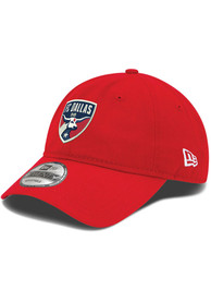 FC Dallas New Era Wool 9TWENTY Adjustable Hat - Red