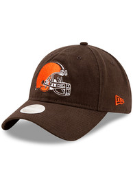 Cleveland Browns Womens New Era Womens Core Classic 9TWENTY Adjustable - Brown