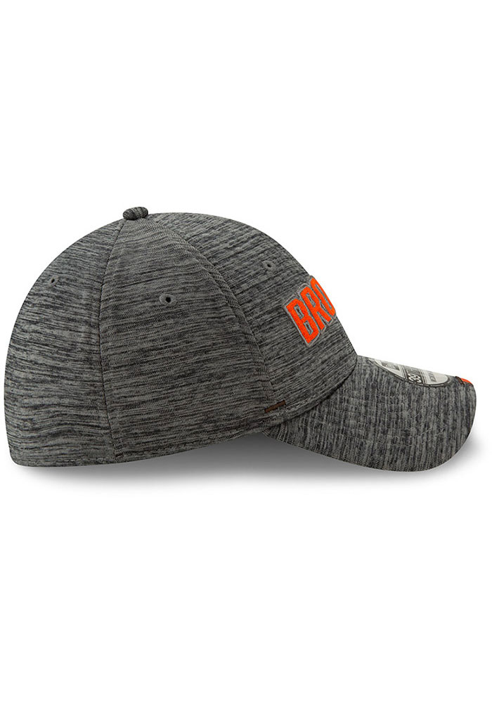 New Era Cleveland Browns Mens Grey 2019 Training 39THIRTY Flex Hat - Image 6