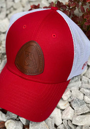New Era St Louis Cardinals Red Patched Mesh 39THIRTY Flex Hat