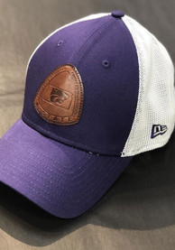 New Era K-State Wildcats Purple Patched Mesh 39THIRTY Flex Hat