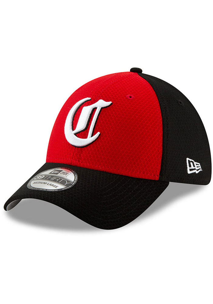 meet info for outlet for sale New Era Cincinnati Reds Mens Red Batting Practice 2019 39THIRTY ...
