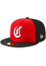 quality design 30167 68586 Cincinnati Reds New Era Red Batting Practice 2019 59FIFTY Fitted Hat