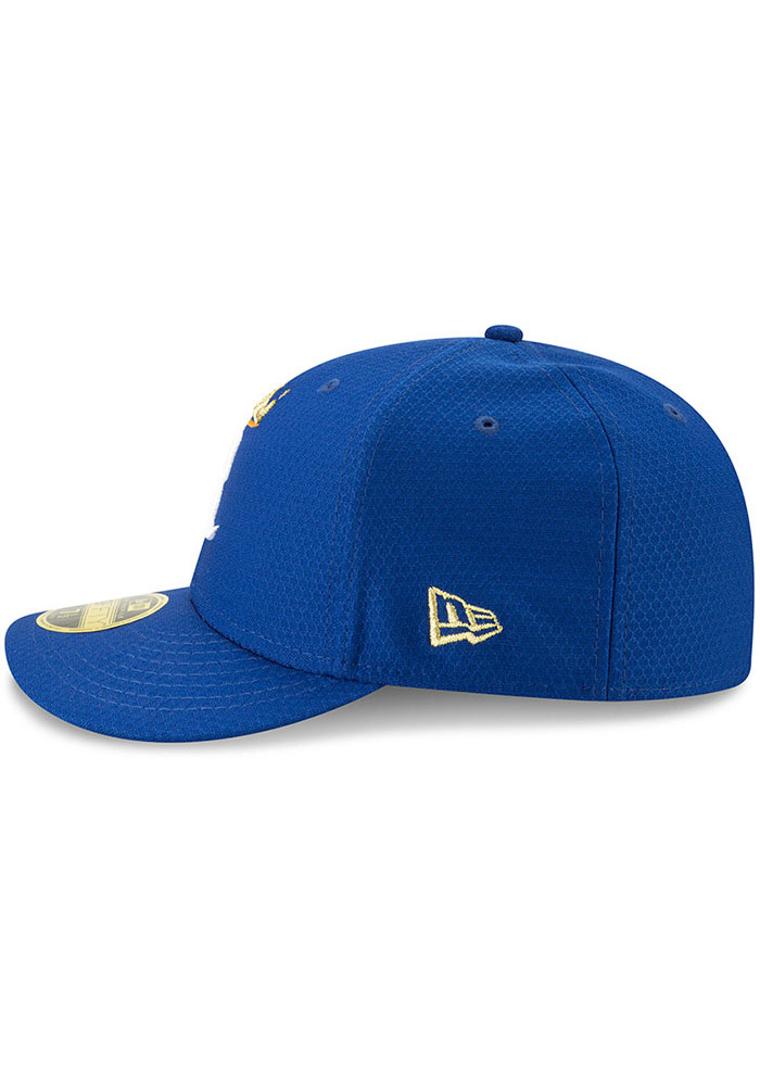New Era Kansas City Royals Mens Blue Batting Practice 2019 LP 59FIFTY Fitted Hat - Image 4