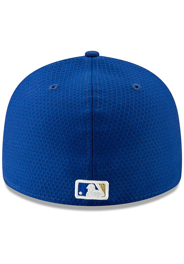 New Era Kansas City Royals Mens Blue Spring Training BP 2019 LP 59FIFTY Fitted Hat - Image 4