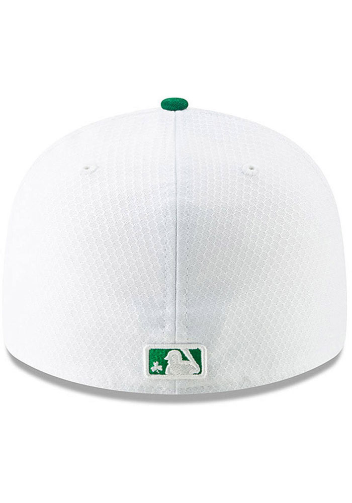 New Era Kansas City Royals Mens White St. Patty's Day 2019 LP 59FIFTY Fitted Hat - Image 4
