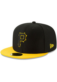 Pittsburgh Pirates New Era Black Batting Practice 2019 59FIFTY Fitted Hat