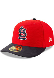 St Louis Cardinals New Era Red Batting Practice 2019 LP 59FIFTY Fitted Hat