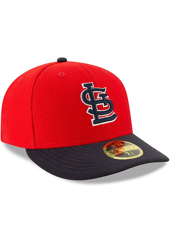 New Era St Louis Cardinals Mens Red Batting Practice 2019 LP 59FIFTY Fitted Hat - Image 2