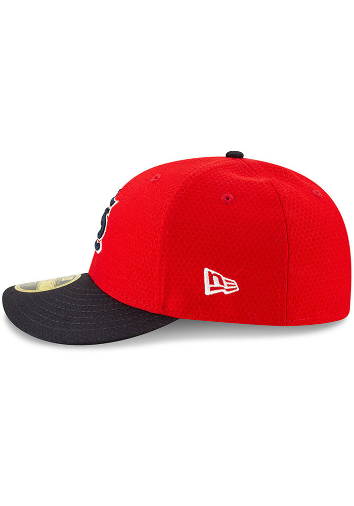 New Era St Louis Cardinals Mens Red Batting Practice 2019 LP 59FIFTY Fitted Hat - Image 4