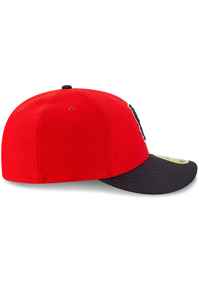 New Era St Louis Cardinals Mens Red Batting Practice 2019 LP 59FIFTY Fitted Hat - Image 6