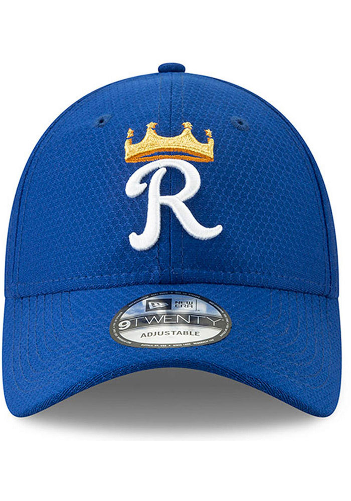 New Era Kansas City Royals Blue Batting Practice 2019 JR 9TWENTY Youth Adjustable Hat - Image 2