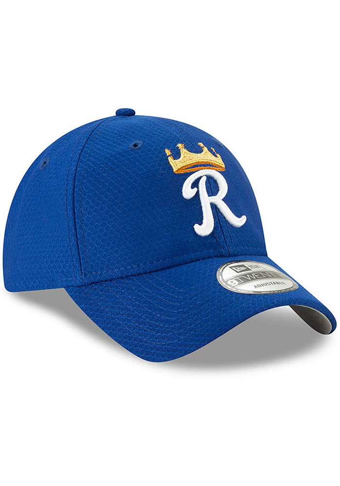 New Era Kansas City Royals Blue Batting Practice 2019 JR 9TWENTY Youth Adjustable Hat - Image 3