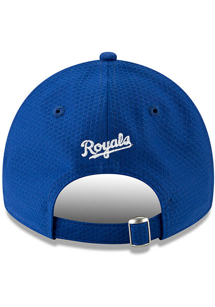 New Era Kansas City Royals Blue Batting Practice 2019 JR 9TWENTY Youth Adjustable Hat - Image 4