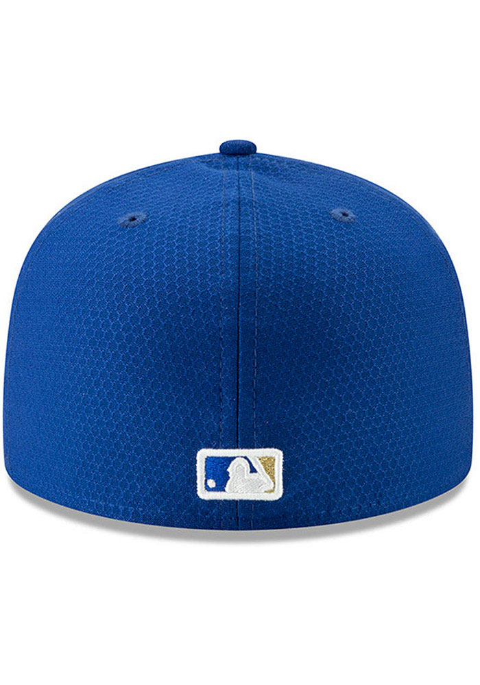 New Era Kansas City Royals Blue Batting Practice 2019 JR 59FIFTY Youth Fitted Hat - Image 4