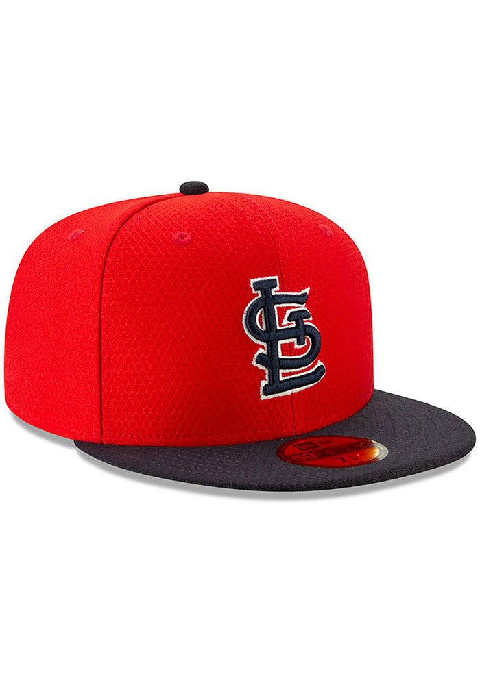 New Era St Louis Cardinals Red Batting Practice 2019 JR 59FIFTY Youth Fitted Hat - Image 3