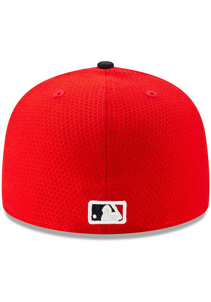 New Era St Louis Cardinals Red Batting Practice 2019 JR 59FIFTY Youth Fitted Hat - Image 4