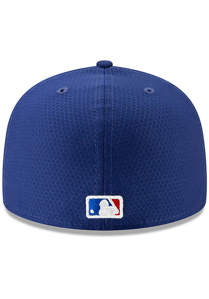 New Era Texas Rangers Blue Batting Practice 2019 JR 59FIFTY Youth Fitted Hat - Image 4