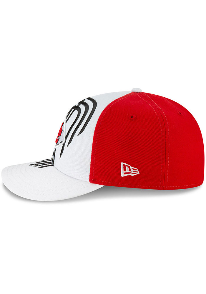 New Era Kansas City Chiefs Mens White 2019 On-Stage Draft LP59FIFTY Fitted Hat - Image 4