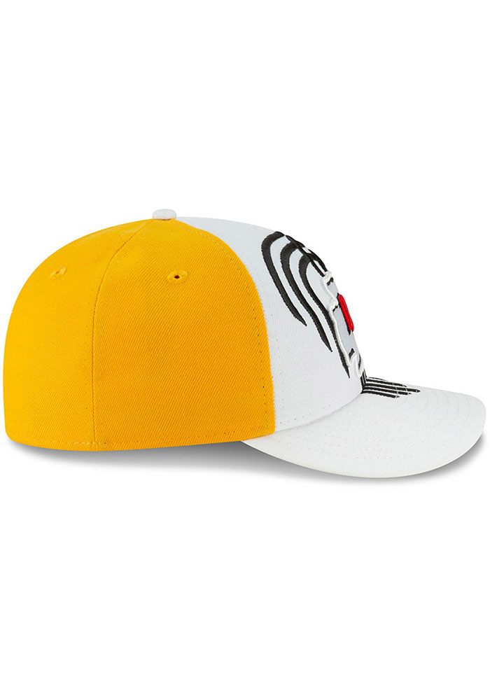 New Era Kansas City Chiefs Mens White 2019 On-Stage Draft LP59FIFTY Fitted Hat - Image 6