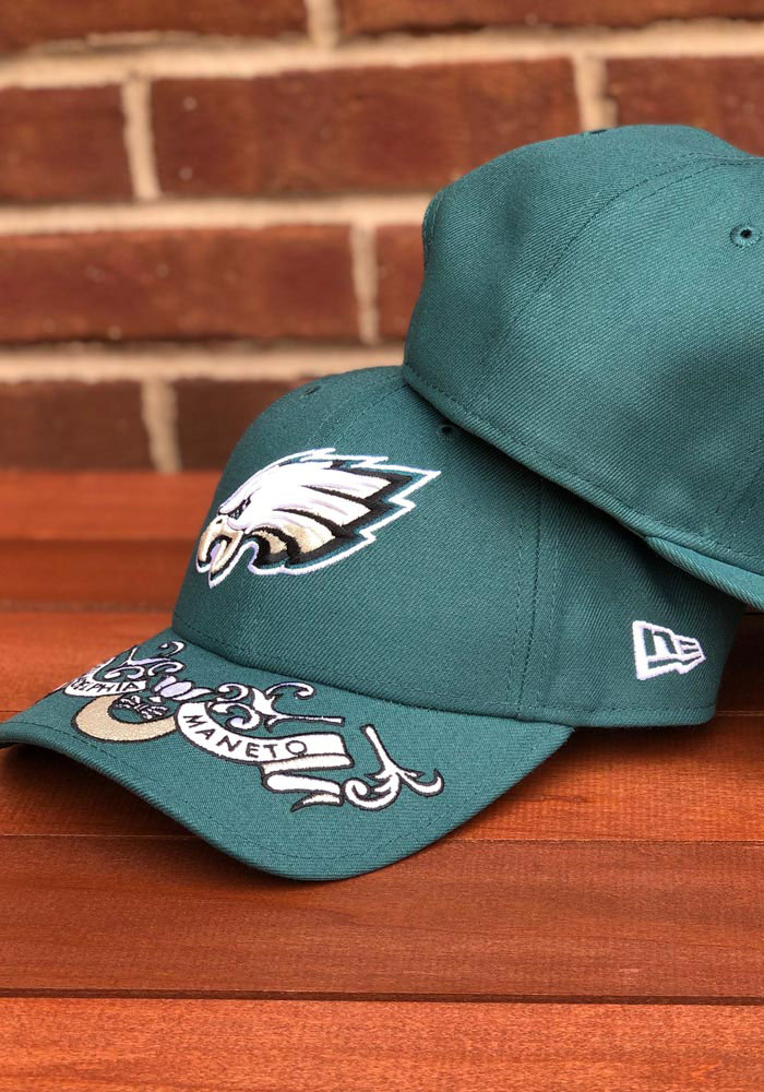 New Era Philadelphia Eagles Mens Green 2019 On-Stage Draft LP59FIFTY Fitted Hat - Image 7
