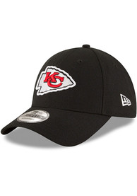 Kansas City Chiefs New Era The League 9FORTY Adjustable Hat - Black