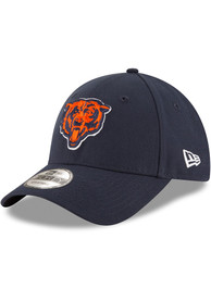 Chicago Bears New Era The League 9FORTY Adjustable Hat - Navy Blue