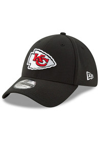 Kansas City Chiefs New Era Team Classic 39THIRTY Flex Hat - Black