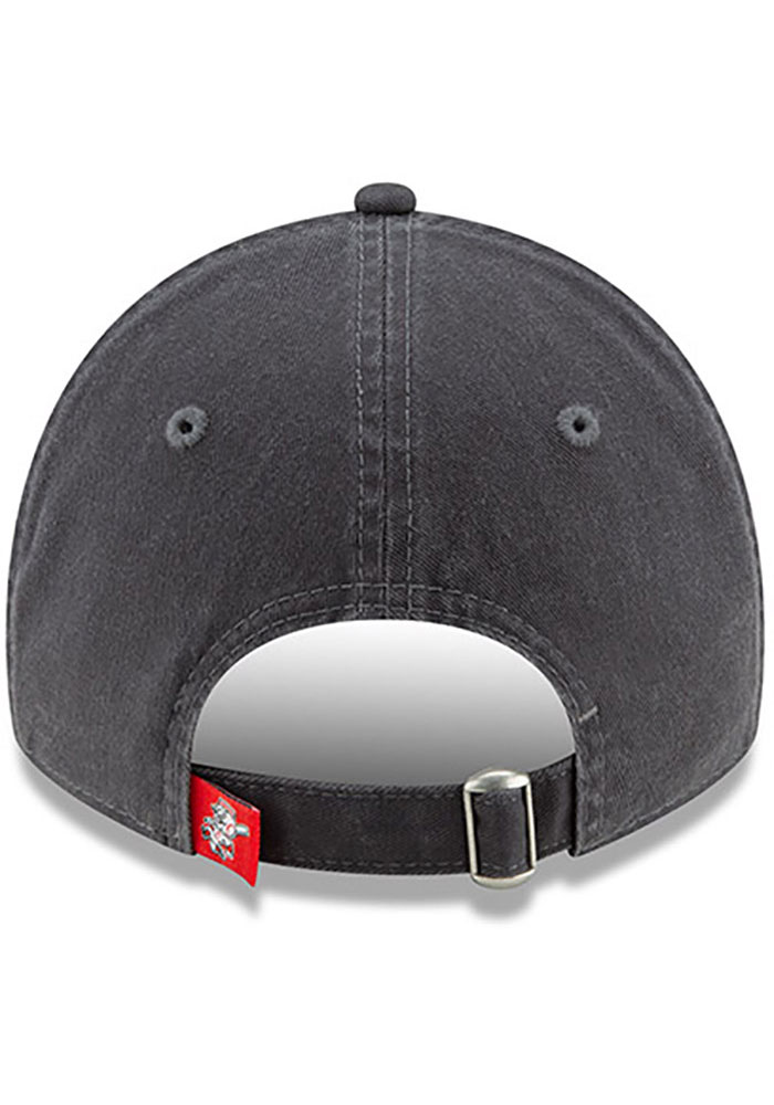 New Era Cincinnati Reds Grey JR Core Classic 9TWENTY Youth Adjustable Hat - Image 5