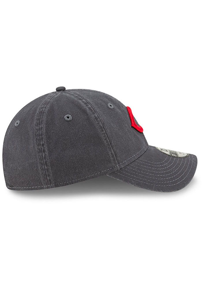 New Era Cincinnati Reds Grey JR Core Classic 9TWENTY Youth Adjustable Hat - Image 6