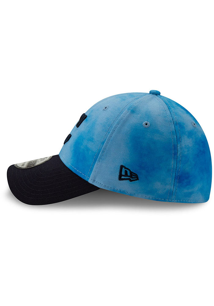 New Era Cleveland Indians Mens Blue 2019 Father's Day 39THIRTY Flex Hat - Image 4