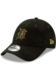 newest 0acaa b2e35 New Era Detroit Tigers 2019 Armed Forces Day 9FORTY Adjustable Hat - Green