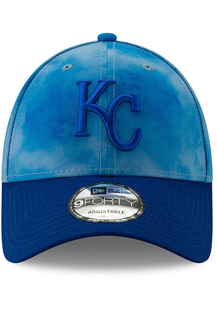 New Era Kansas City Royals 2019 Father's Day 9FORTY Adjustable Hat - Blue - Image 3