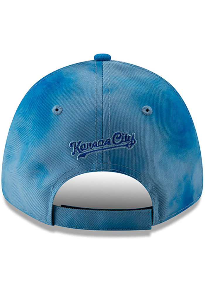 New Era Kansas City Royals 2019 Father's Day 9FORTY Adjustable Hat - Blue - Image 5