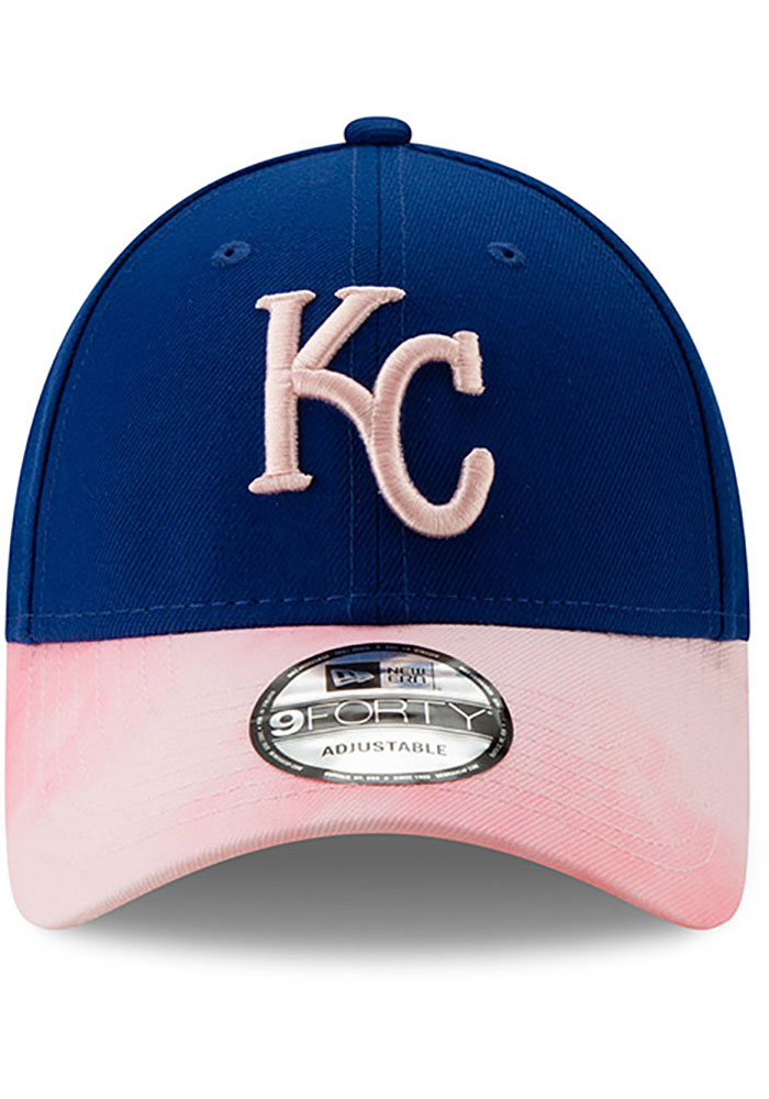New Era Kansas City Royals 2019 Mothers Day 9FORTY Adjustable Hat - Pink - Image 3