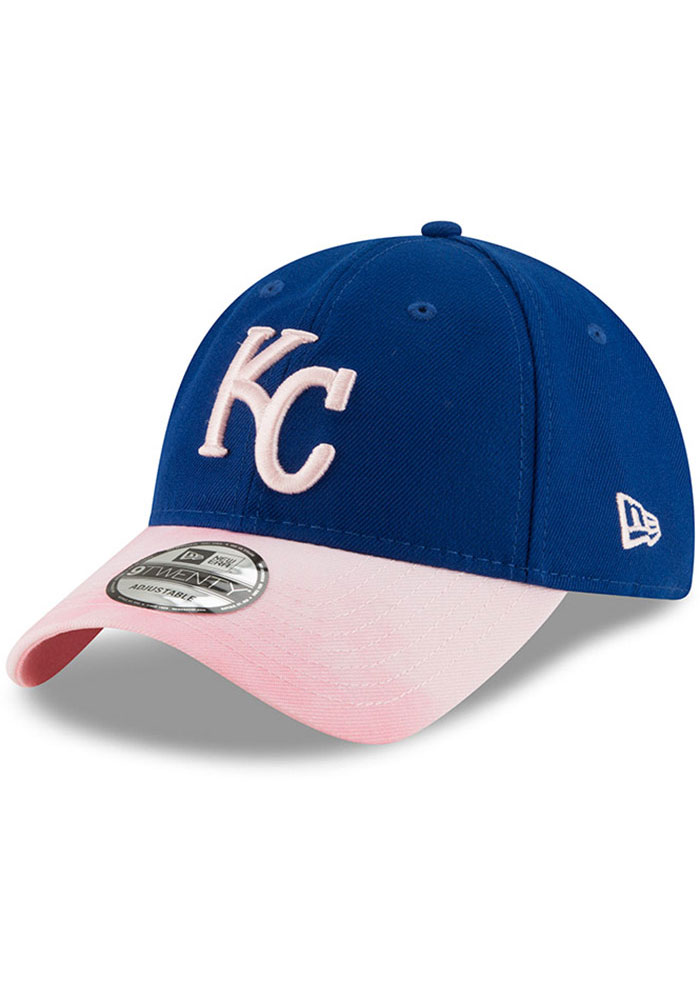 New Era Kansas City Royals 2019 Mother's Day 9TWENTY Adjustable Hat - Pink - Image 1