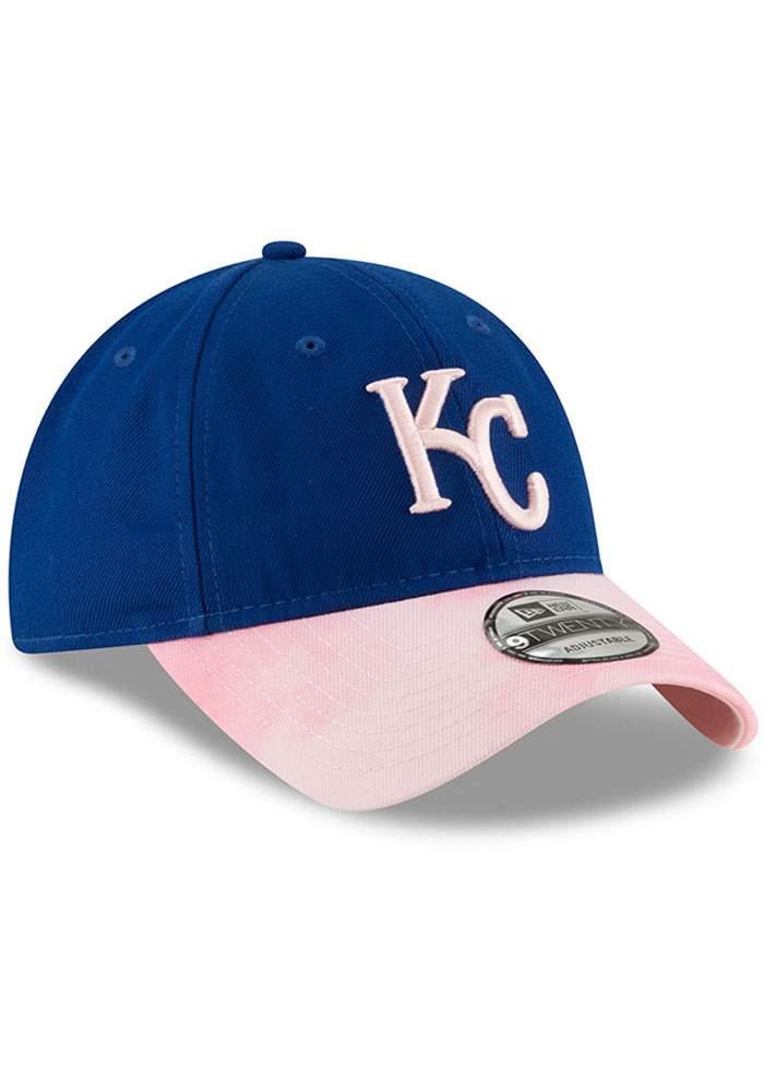 New Era Kansas City Royals 2019 Mother's Day 9TWENTY Adjustable Hat - Pink - Image 2
