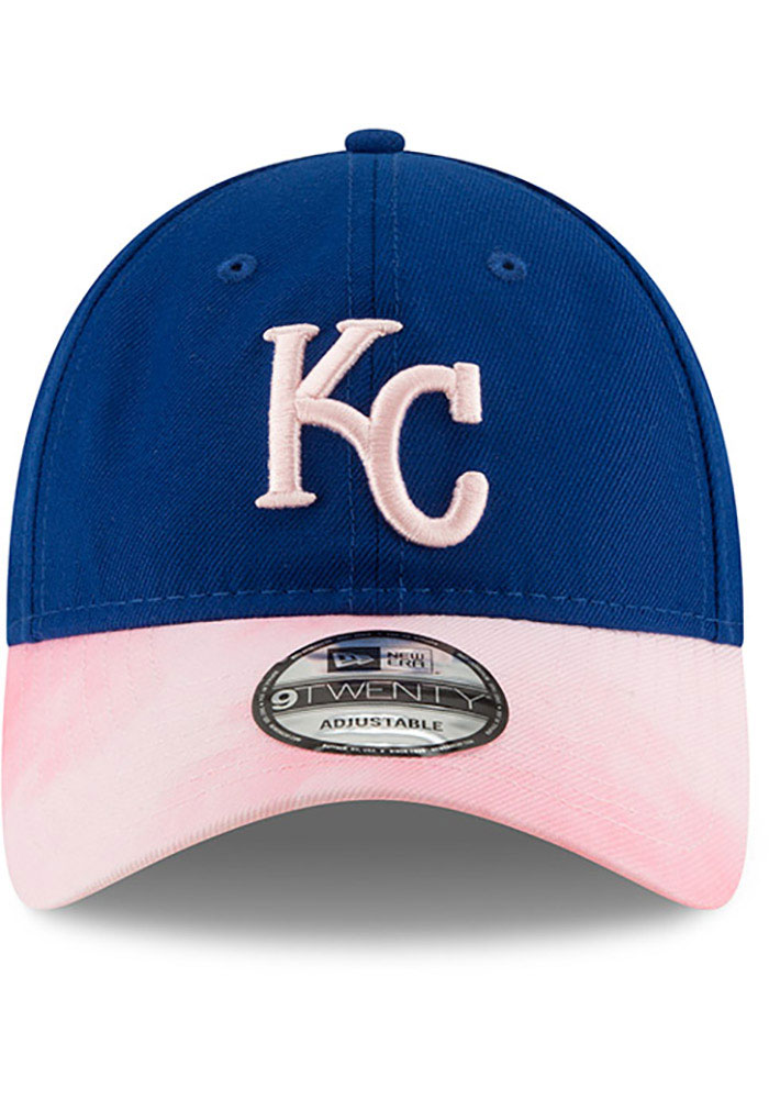 New Era Kansas City Royals 2019 Mother's Day 9TWENTY Adjustable Hat - Pink - Image 3