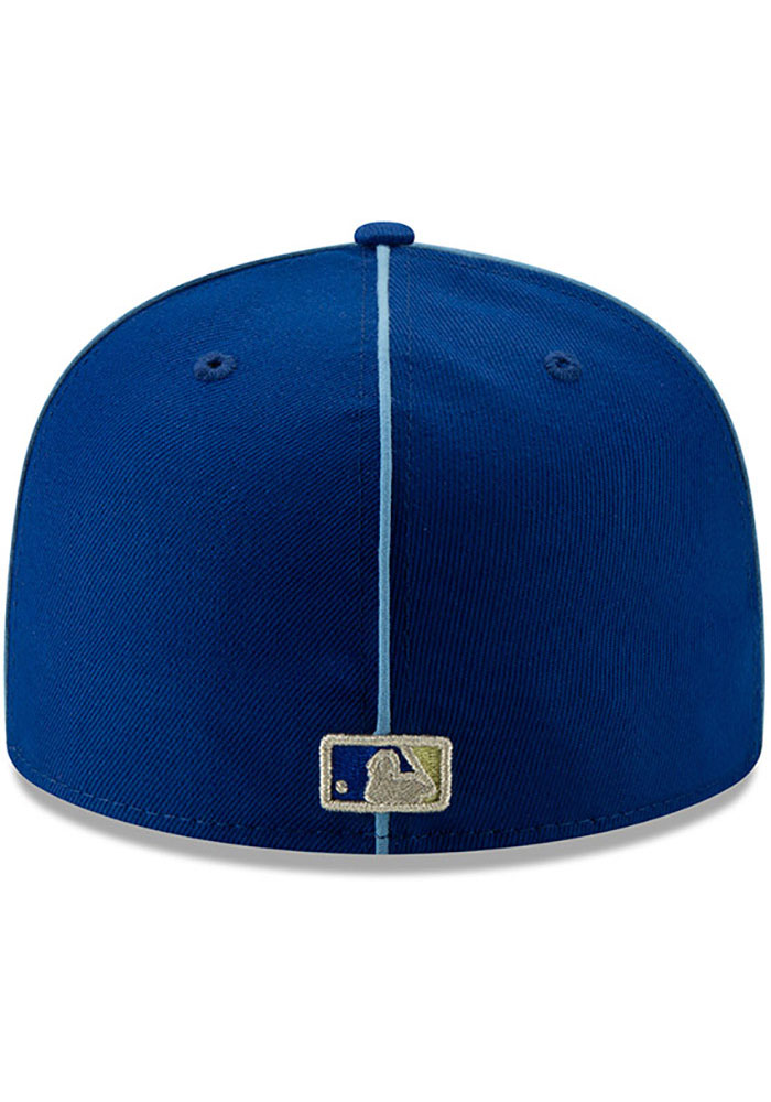 New Era Kansas City Royals Mens Blue 2019 All Star 59FIFTY Fitted Hat - Image 5