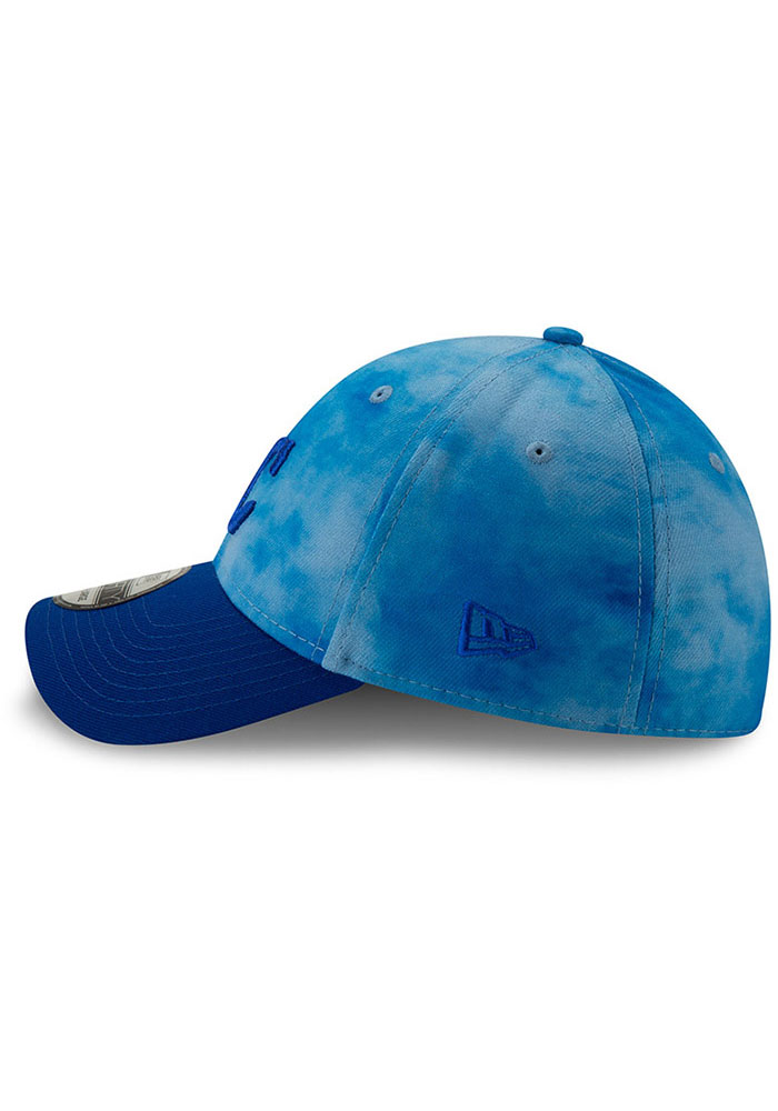 New Era Kansas City Royals Mens Blue 2019 Father's Day 39THIRTY Flex Hat - Image 4