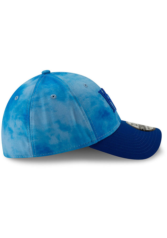 New Era Kansas City Royals Mens Blue 2019 Father's Day 39THIRTY Flex Hat - Image 6