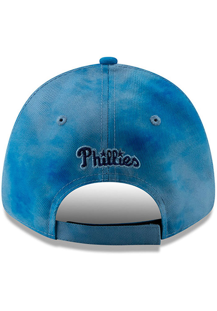 New Era Philadelphia Phillies 2019 Father's Day 9FORTY Adjustable Hat - Blue - Image 5