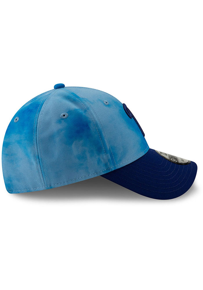 New Era Philadelphia Phillies 2019 Father's Day 9FORTY Adjustable Hat - Blue - Image 6