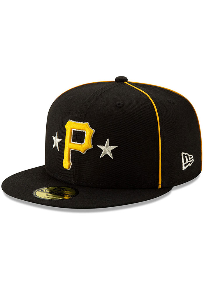 New Era Pittsburgh Pirates Mens Black 2019 All Star 59FIFTY Fitted Hat - Image 1