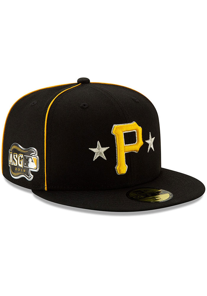 New Era Pittsburgh Pirates Mens Black 2019 All Star 59FIFTY Fitted Hat - Image 2